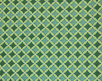 Teal, sage, Édition Fabric, multiple quantity cut in one piece, 100% Cotton