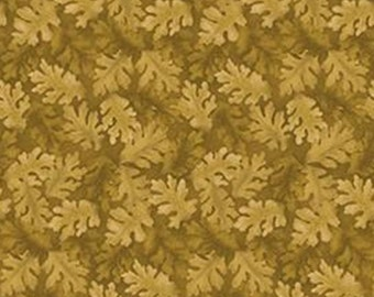 Leaf, green, Harvest Berry, Benartex, 07565, col 043, cotton, cotton quilt, cotton designer