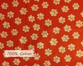 Dogs and Suds, red,  Henry Glass & Co, multiple quantity cut in 1 piece, 100% Cotton