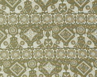Hares, Home on the Prairie, 30180302, col 02, Camelot Fabrics, 100% Cotton