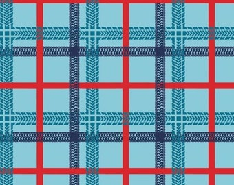 Tire tracks, plaid, 27190104, col 01, On the Move, Camelot Fabrics, cotton, cotton quilt, cotton designer