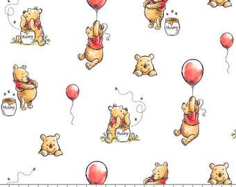 Winnie The Pooh, 85430503, col 01, Camelot Fabrics, cotton, cotton quilt, cotton designer