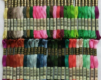 DMC, 834-957, Embroidery, thread, DMC, Mouliné 25, art 117 No. 25, 8 meters each skein, cotton