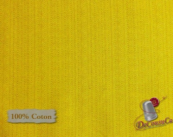 Yellow, Bear Essentials 3, P & B Textiles, multiple quantity cut in one piece, 100% Cotton
