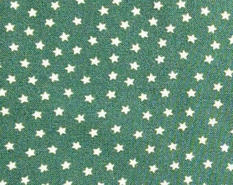 Star, forest green, Andover, 9166, cotton, cotton quilt, cotton designer