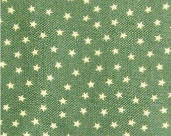 Star, olive green, Andover, 9166, cotton, cotton quilt, cotton designer