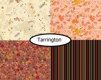 4 prints, Tarrington, Marcus Fabrics  bundle, 1 of each
