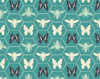 Butterfly, Bee, Monarch Grove, 26170506, col 03, Camelot Fabrics, 100% Cotton, quilt cotton