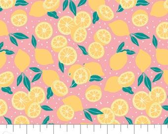 Lemons, Feeling' Fruity, 30200208, col 02, Camelot Fabrics, 100% Cotton, (Reg 3.76-21.91)