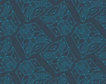 END OF BOLT, Transformers Galaxy, 95020206, col 03, Camelot Fabrics, cotton, cotton quilt, cotton designer