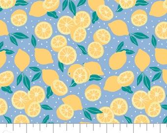 Lemons, Feeling' Fruity, 30200208, col 01, Camelot Fabrics, 100% Cotton, (Reg 3.76-21.91)