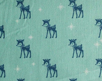 Renne, blue, Cozy Christmas, Riley Blake, fabric, cotton, quilt cotton