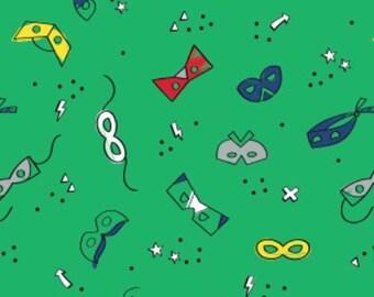 Masks, 27180504, Half-Pint Heroes, Camelot Fabrics, cotton, cotton quilt, cotton designer