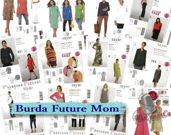 Burda, Future Mama, 6-24, new, uncut