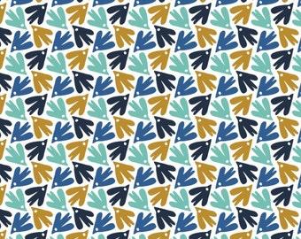 Birds, 21170603, col 01, Skogen, Camelot Fabrics, 100% Cotton