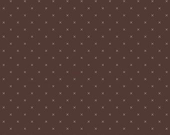 RAISIN, Bee Cross Stitch, 745, Riley Blake, cotton quilt, cotton designer, (Reg 3.76-21.91)