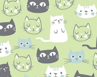 Cat, Purrfect Day, 9900, Riley Blake, cotton quilt, cotton designer