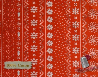 Happy Holidays, Flora Waycott, Fabric Editions, multiple quantity cut in one piece, Cotton