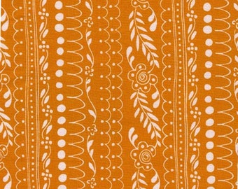 Orange, Sweet Daisy Lane, Michael Miller, CD7457, 100% Cotton, (Reg 2.99-17.99)