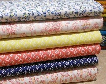 Bundle, 6 designs, By the sea, Camelot Fabrics, 1 of each design