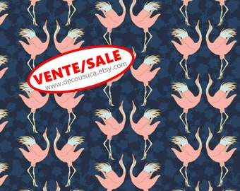 SALE, Birds, 29180202, col 01, Mistic Cranes, Camelot Fabric, quilt cotton, (Reg 3.76-21.91)