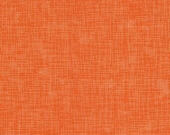 Orange, quilter's linen, 9864, col 349, Robert Kaufman, 100% Cotton