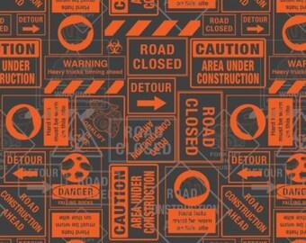 Tonka, Street Signs, 95060106, col 02, Camelot Fabrics, cotton, cotton quilt, cotton designer