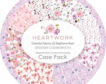 Bundle, 8 motifs, Heartwork, Camelot Fabrics, quilt cotton, designer cotton, (Reg 30.08-155.92)