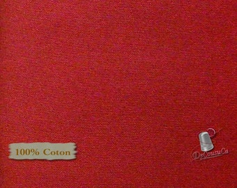 RED, 100% cotton, quilt cotton, Camelot Fabrics, multiple quantity cut in one piece,