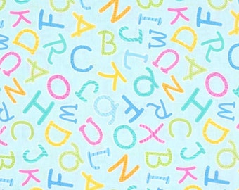 Alphabet, 6774, col 80, My Little Sunshine 2, Benartex, cotton, cotton quilt, cotton designer
