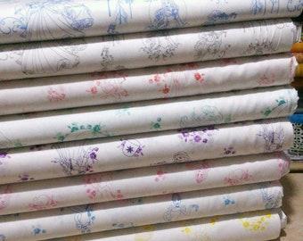 Bundle, 8 motifs, Disney Princess of Camelot Fabrics, quilt cotton