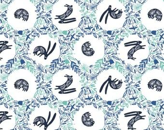 Burrow, 21170602, col 01, Skogen, Camelot Fabrics, 100% Cotton, (Reg 2.99-17.99)
