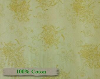 Sweet Escape, by P & B Textiles, black, 100% Cotton