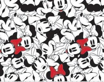 Minnie, Disney, 85271010, col 01, Camelot Fabrics, cotton, cotton quilt, cotton designer