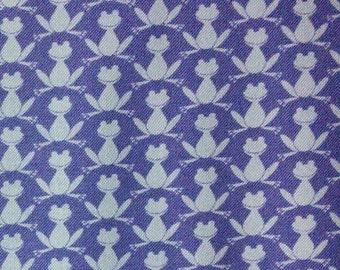 Frog, mauve, lavender, Michael Miller, CM7725, 100% Cotton, (Reg 2.99-17.99)