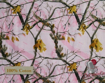 Tree, pink, 10006, Sykel Enterprises, Realtree, multiple quantity cut in one piece, 100% Cotton, (Reg 2.99-17.99)
