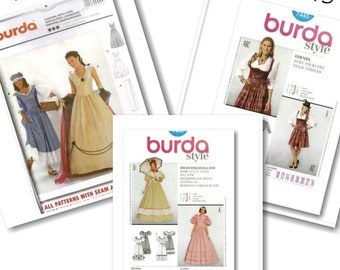 Burda, Costume, women 8-32 , new, uncut