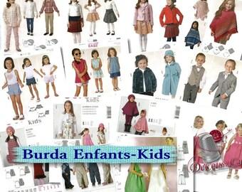 6 models, Burda, 6M-8, liquidation, new, uncut