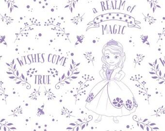 Sofia, princess Sofia, reaim of magic, 85380503, col 02, Camelot Fabrics, cotton, cotton quilt, cotton designer