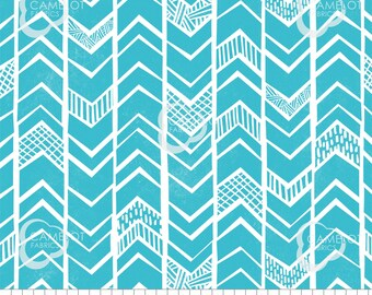 Chevrons, turquoise, Mod Blocks, 27180110, col 02, Camelot Fabrics, 100% Cotton, quilt cotton, (Reg 2.99-17.99)
