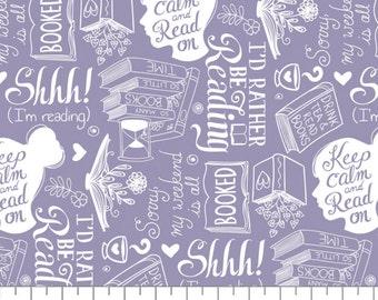 Literary, 21190524, col 02, Camelot Fabrics, 100% Cotton