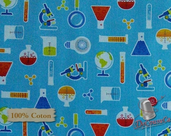 Chemistry, Geek Chic, Studio e, 3734, multiple quantity cut in one piece, 100% Cotton