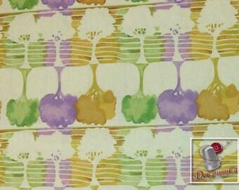 Watercolor Garden, by Meera, Camelot Cotton, tree, 100% Cotton