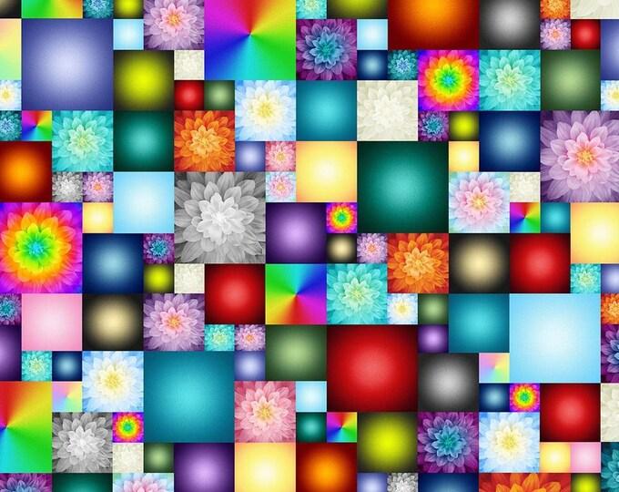 Featured listing image: Kablooms, 4539, Hoffman Fabrics, cotton quilt, cotton designer