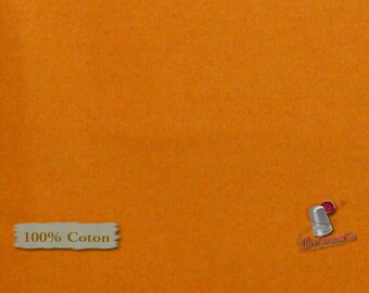 ORANGE, 100% cotton, quilt cotton, Camelot Fabrics, multiple quantity cut in one piece,ST-532