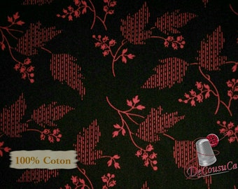 Fruits, black, Garibaldi, Sara Morgan, Washington Street Studio, 26742, multiple quantity cut in one piece, 100% Cotton, (Reg 3.99 - 17.99)