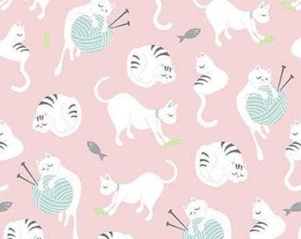 Cat, Purrfect Day, 9901 R, Riley Blake, cotton quilt, cotton designer
