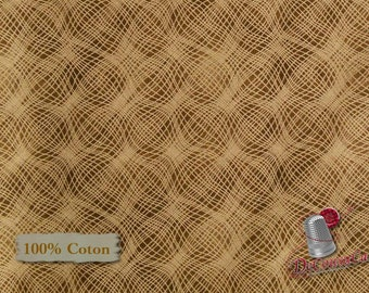 Brown, Mesh, P & B Textiles, #26703, multiple quantity cut in one piece, 100% Cotton