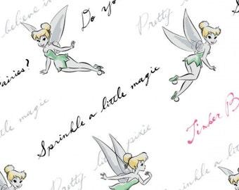 Tinker Bell, Disney, 85400105, col 03, Camelot Fabrics, cotton, cotton quilt, cotton designer