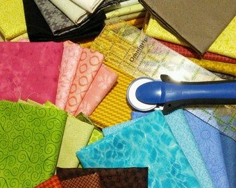 "50%, 10 FE, or 10 FQ, 1 Fat Eight = 9""X22"", 1 Fat Quarter = 18''X22 '', quality quilting, cotton designer, photo as an example"